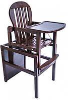 Детский деревянный стульчик для кормления KIDDI DeSon DS2-03, фото 1