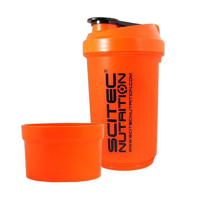 Шейкер Travel Scitec Nutrition 500 ml ( оранжевый)