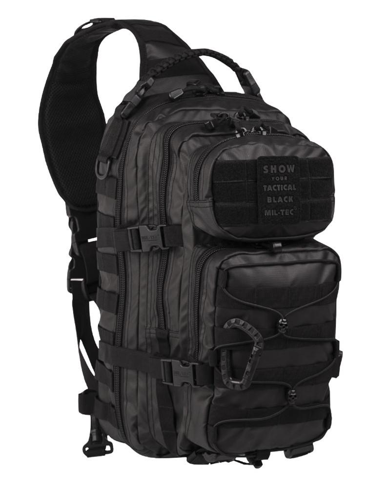 Рюкзак однолямочный Mil-Tec'TACTICAL BLACK ONE STRAP ASSAULT PACK LARGE'14059288