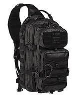 Рюкзак однолямочный Mil-Tec'TACTICAL BLACK ONE STRAP ASSAULT PACK LARGE'14059288 , фото 1