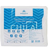 Салфетки одноразовые 35х40см спанлейс/Гладкий (100 шт/уп)