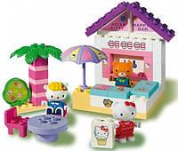 Детский конструктор Unico Plus Пляжное кафе Hello Kitty 41 деталь (8669-00HK)