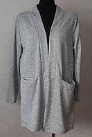 Кардиган-пиджак удлиненный