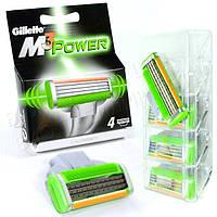 Сменные кассеты Gillette Mach3 Power Original (4 шт) G0028