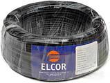 Провод ПВС 2х0,75 ELCOR чёрный, фото 2