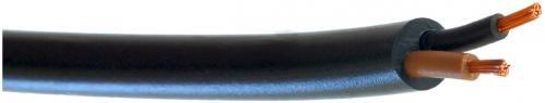 Провод ПВС 2х0,75 ELCOR чёрный