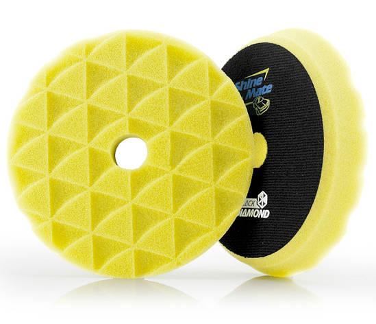 Твердый поролоновый круг Yellow high cutting T80, фото 2