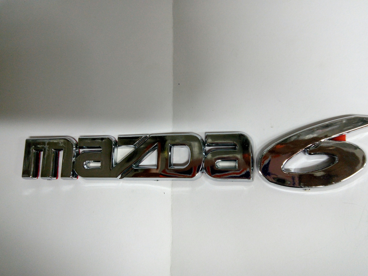 Надпись MAZDA 6  210х30 мм
