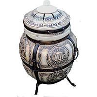 """Тандыр печь дизайн """"Античный"""" №10 75 литров, фото 1"""