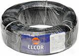 Провод соединительный медный ELCOR ПВС 2х1,5 чёрный ГОСТ, фото 2