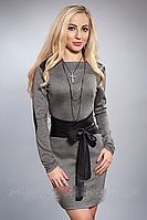 Платье женское модель №449-1,р.44,46,48 серое