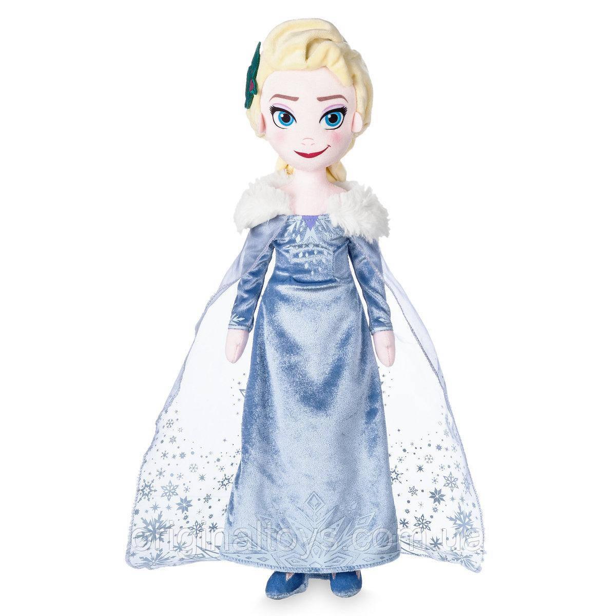 Мягкая игрушка кукла Эльза Холодное сердце Disney