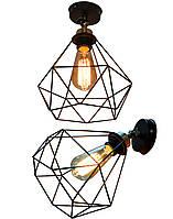 Светильник настенный бра в стиле ЛОФТ