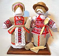 Кукла-мотанка КЛЮЙ Неразлучники Оксана и Вакула 25 см Разноцветная (K0005NOV)