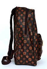 Модный универсальный рюкзак с эко-кожи  5988, фото 3