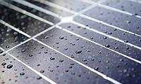 В будущем солнечные панели смогут генерировать электричество из энергии дождя