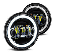 Протитуманні світлодіодні фари (LED)  DL-J045F, Jeep, Harley, Custom Motocycles