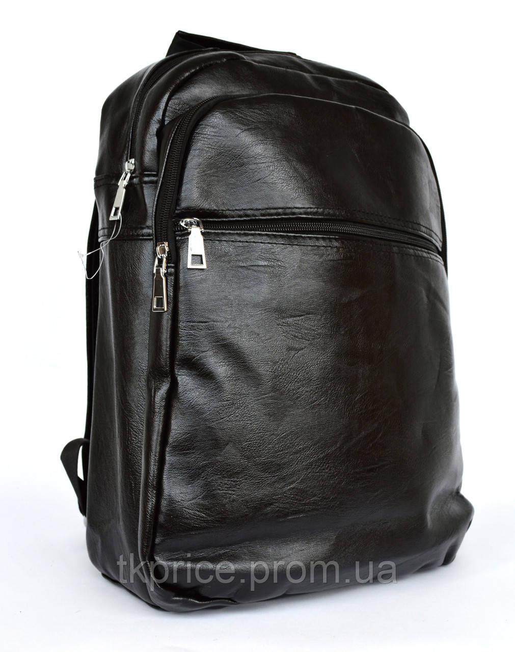 Качественый универсальный рюкзак с эко-кожи  8131