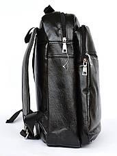Качественый универсальный рюкзак с эко-кожи  8131, фото 3