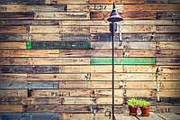 Фотофон виниловый доски Стена