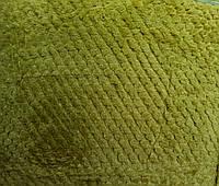 Простынь махровая из бамбука 180*220. Яркая оливка.