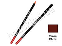 Карандаш для глаз и губ деревянный Jovial Luxe ML-185 №17 pecan