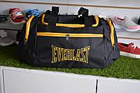 Мужская спортивная сумка черная желтая everlast, копия, фото 1