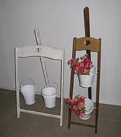 Подставка для цветов Мольберт деревянный вертикальный, фото 1
