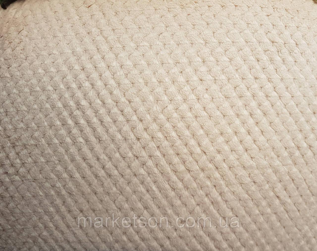 Простынь махровая из бамбука 200*230. Бежевый.