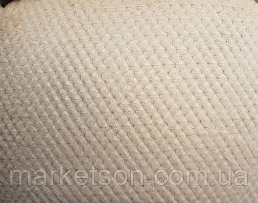 Простынь махровая из бамбука 200*230. Бежевый., фото 2
