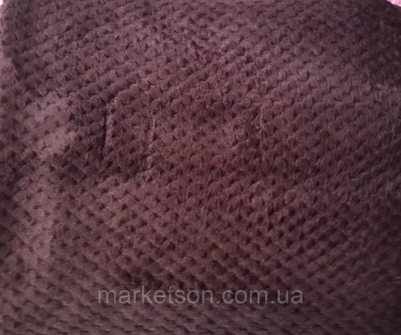 Простынь махровая из бамбука 200*230. Шоколад.