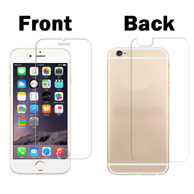 Противоударное защитное стекло Iphone 6 6s (переднее, заднее)