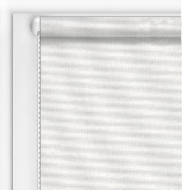 Готові тканинні ролети Скрін білий