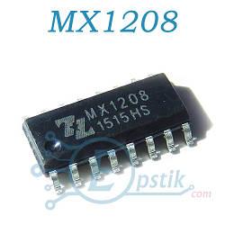 MX1208, драйвер двигателя, 2А, SOP16