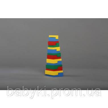 """Деревянная Игрушка - пирамидка """"Головоломка"""", Комаровтойс"""