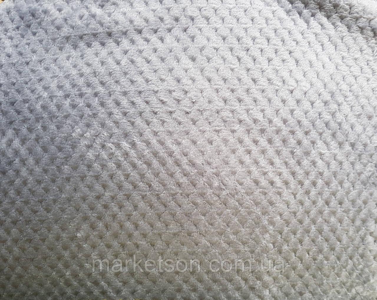 Простынь махровая из бамбука 150*200. Серый.