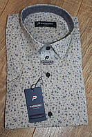 Мужская рубашка с коротким рукавом Passero с узором