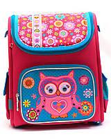 Рюкзак школьный каркасный Сова «1 вересня» 555100