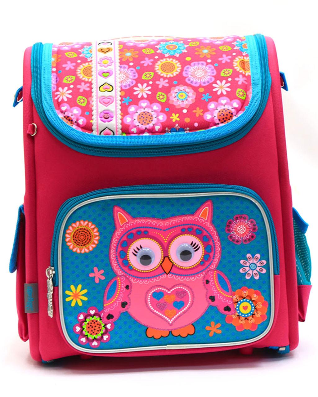 beb35a7fe68a Рюкзак школьный каркасный Сова «1 вересня» 555100 - Интернет-магазин