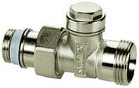 Вентиль Simplex на обратную подводку тип AG/N прямой НР евроконус