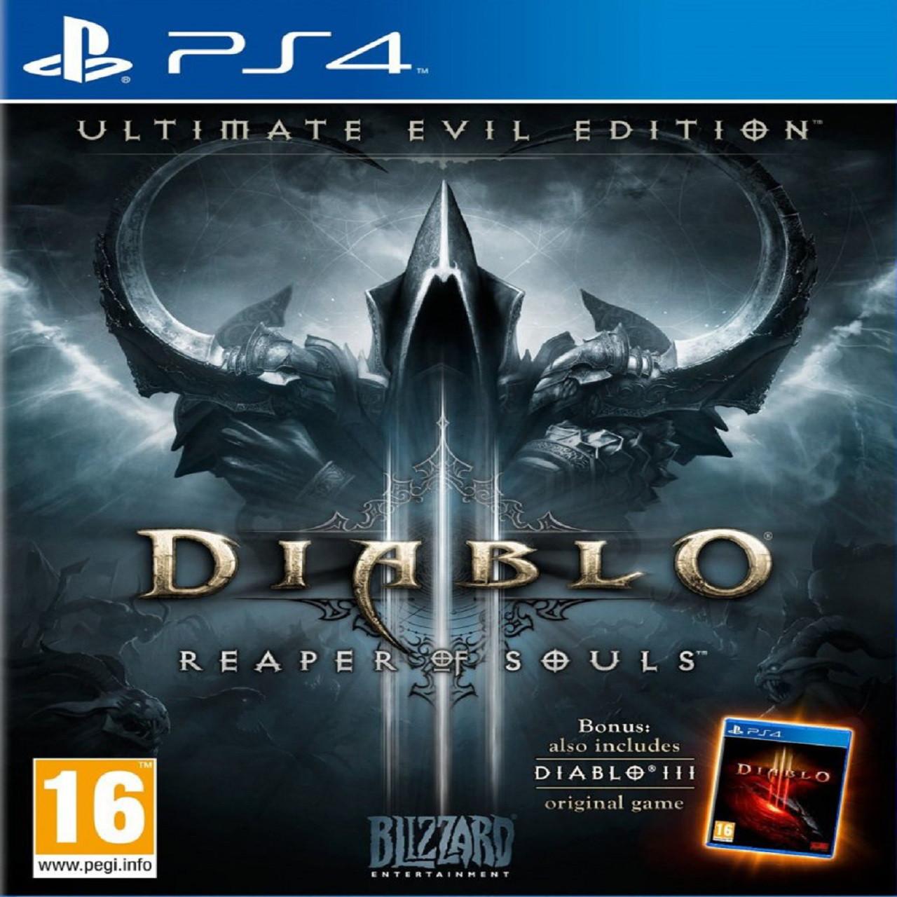 Diablo III : Reaper of Souls (англійська версія) PS4 (Б/В)