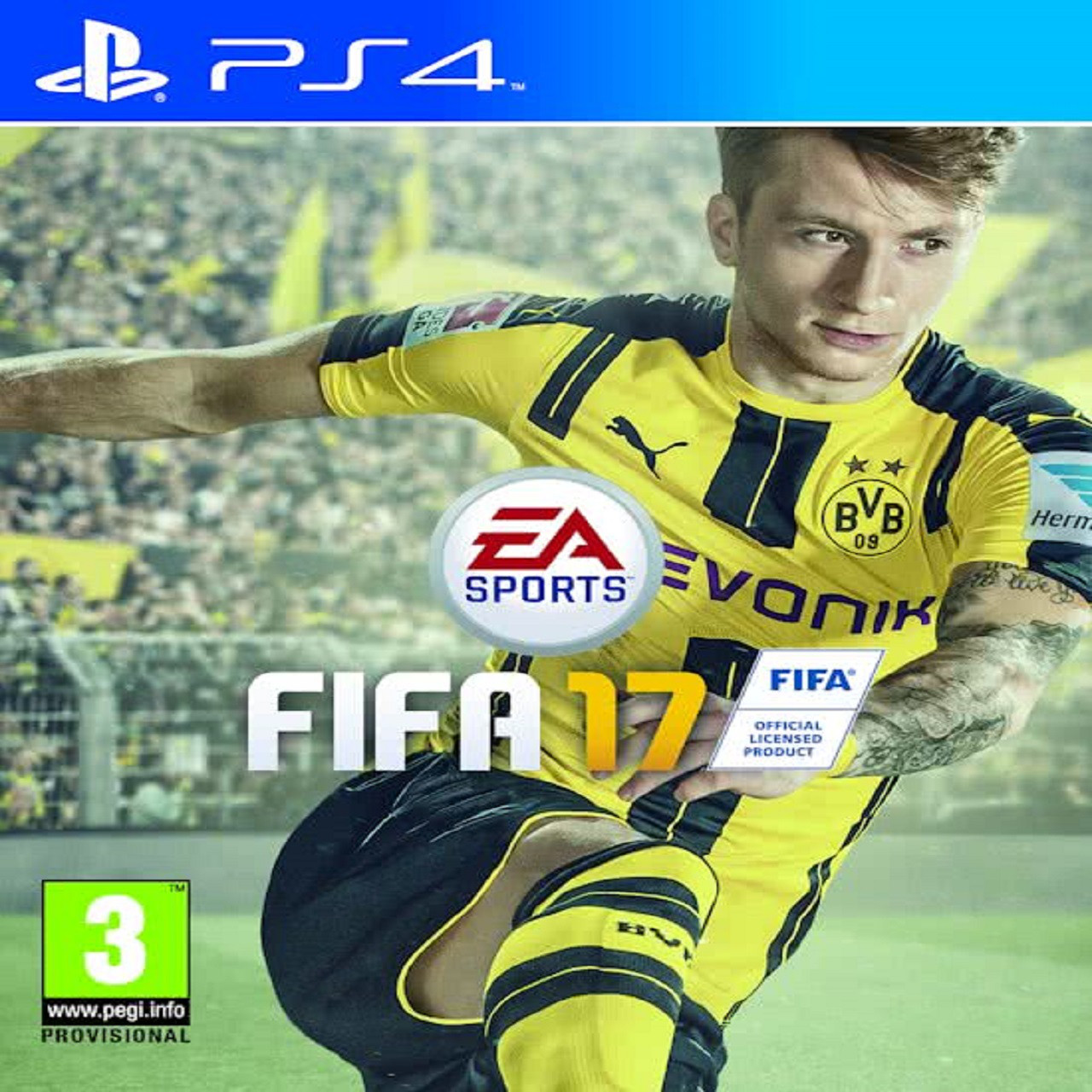 Fifa 17 RUS PS4 (Б/В)