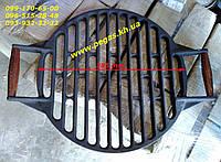 Решетка чугунная гриль круглая, плиты, барбекю, мангал