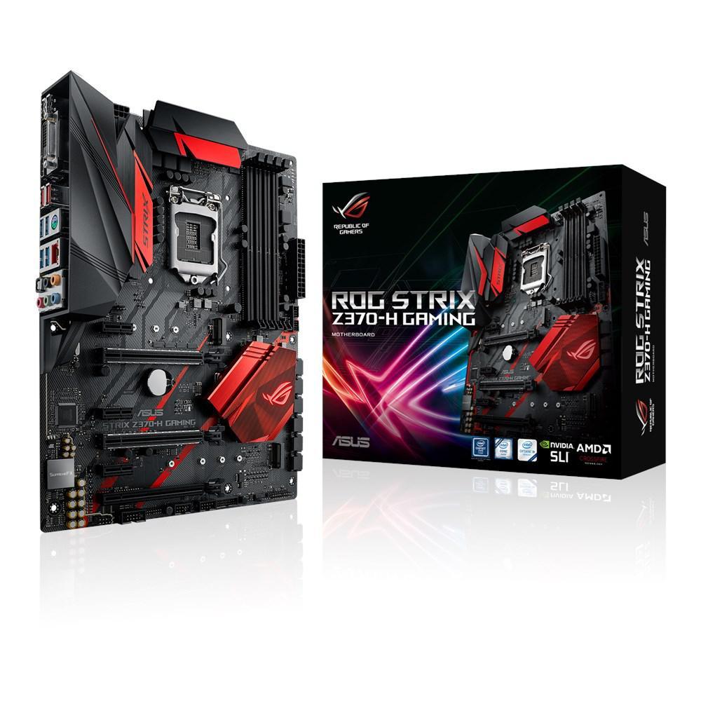 Материнская плата ASUS ROG Strix Z370-H Gaming (s1151/Z370/VGA)