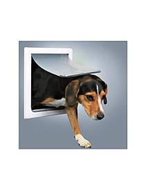 TRIXIE Врезная дверца для кошек и собак S-M