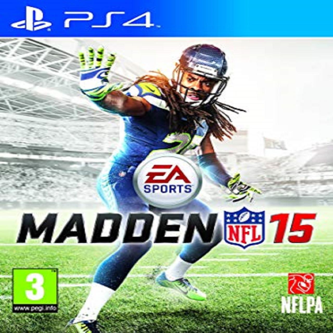 Madden 15 ENG PS4 (Б/В)
