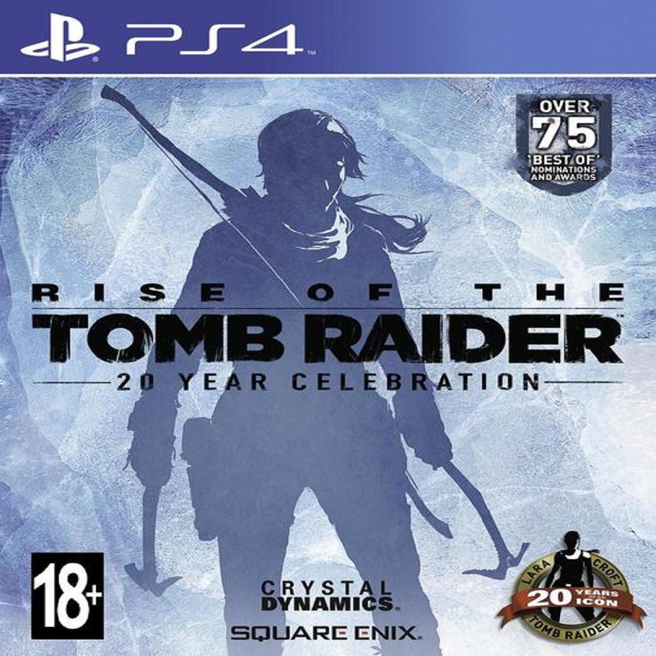 Rise of the Tomb Raider: 20 Year Celebration (steelbook) PS4 RUS (Б/В)