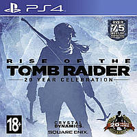 Rise of the Tomb Raider: 20 Year Celebration (stealbook) PS4 РУС (Б/В)