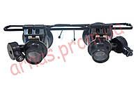 Бинокулярные очки 20x с LED подсветкой 9892A-II