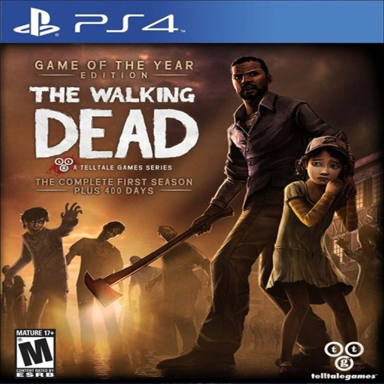 Walking Dead (английская версия) PS4 (Б/У)
